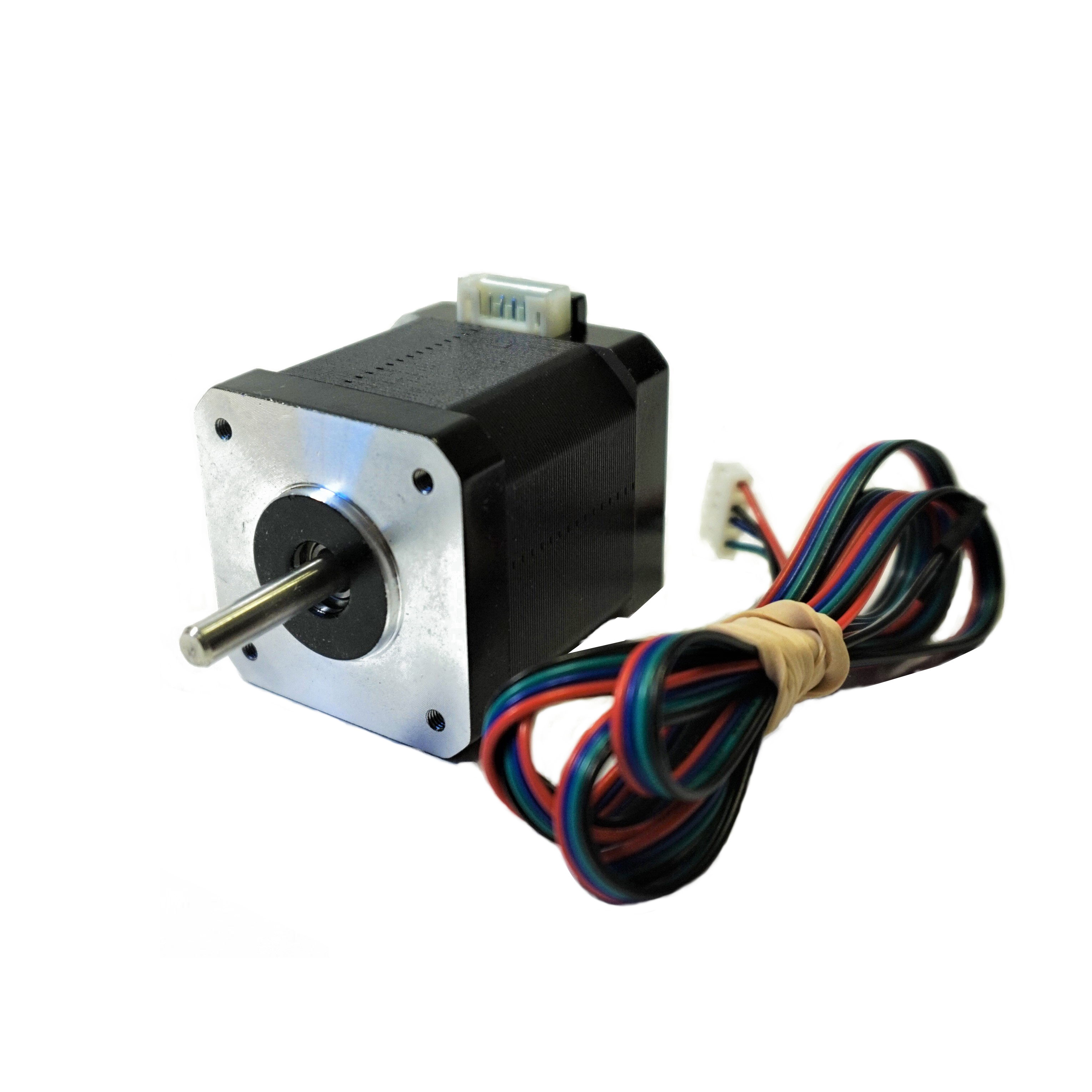 Nema 17 48mm stepper motor sienci labs for Nema 17 motor specs