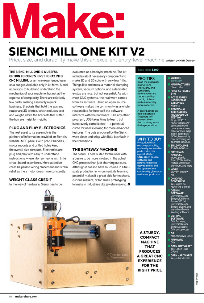 Sienci Mill One Kit V3